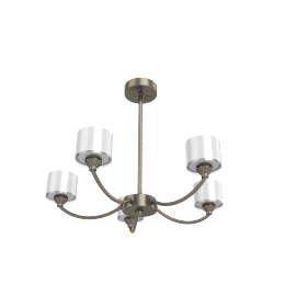 Paige Ceiling Light, 5 Arm