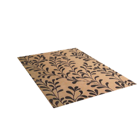 Flock Branch Rug, Gold, W170 x L240cm