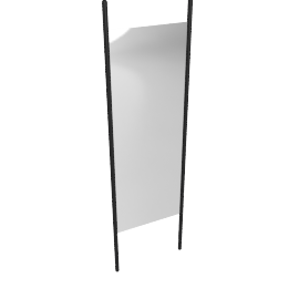 Georg Floor Mirror, Ebonized
