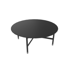 Sommer Coffee Table, Black