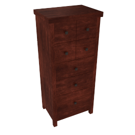 Kerala 3 + 2 Drawer Tall Chest