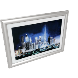 Dubai Light Picture - 95.5x3.8x70.5 cms