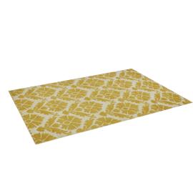 Glamor Rug 160X230Cm-Soft Gold/Ivory