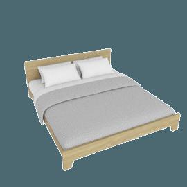 Arkin King Bed - 180x200 cms