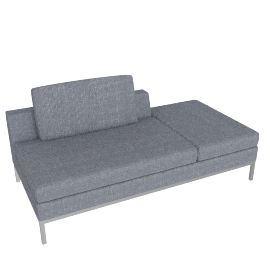 Virginia sectionable 180 Pouf LF