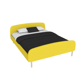 Jonah Large Double Bed