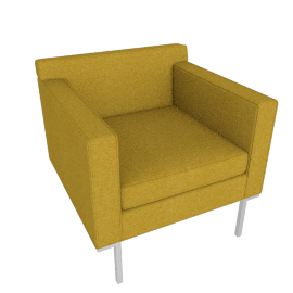 Theatre Armchair, Bucle Ochre