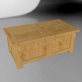 John Lewis Pendleton Trunk Coffee Table, Oak