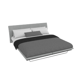 Hatten  bedstead Grey, super king