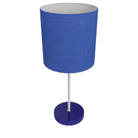 Adley Table Lamp, Blue