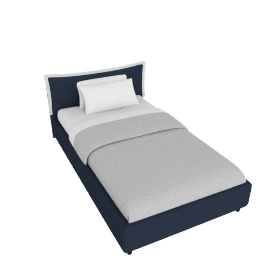 Sicily Bed Frame Cover - 120x200 cms