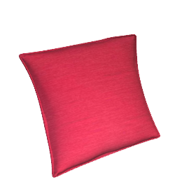 Linara Cushion, Ruby