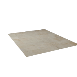 Patch Cowhide Rug - Ivory