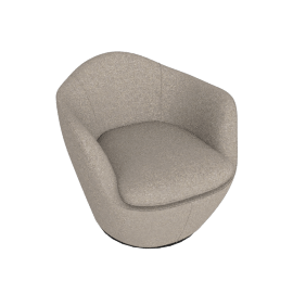 Lina Swivel Chair, Pecora - Graham