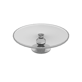 LSA Glass Gourmet Cake Stand