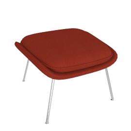 Womb™ Ottoman - Classic Boucle - Crimson