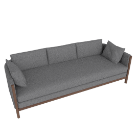 Emmy Sofa, Lama Tweed Heather