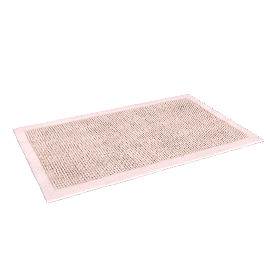 Knitted Bath Mat, Mocha