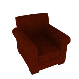 Ashley Chair, Russet