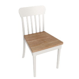John Lewis Drift Dining Chair, White