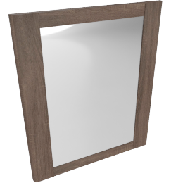 Saturn Mirror, Medium Oak