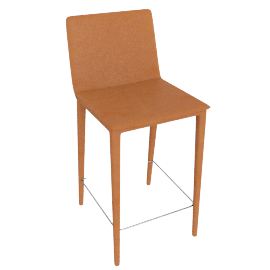 Bottega Barstool, Saddle
