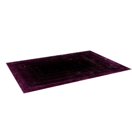 Orba Shaggy Rug - 200x290 cms, Purple