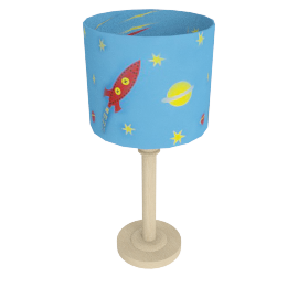 "Rocket Children""s Table Lamp"