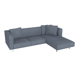 Bilsby Sectional with Chaise, Right