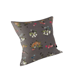Maharam Pillow in Colorwheel 17X17, Charcoal