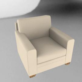 Umbria Chair, Ecru