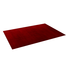 Majestic Rug - 160x230 cms, Red