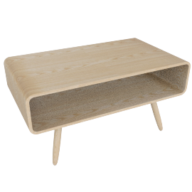 Esme compact coffee table, ash