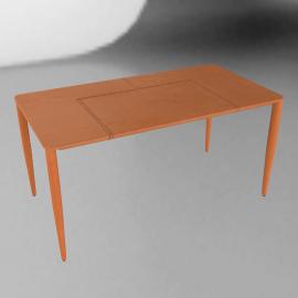 Bottega Leather Desk, saddle