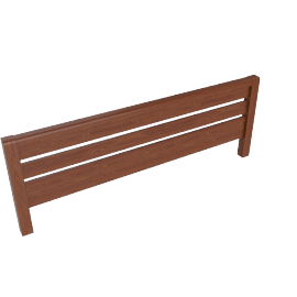 Montana Headboard Kingsize, Walnut