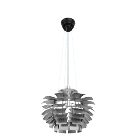 PH Artichoke Lamp - Medium, Stainless steel