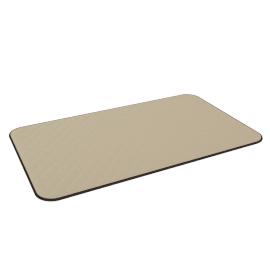 Diamond Mat - 45x75 cms, Beige