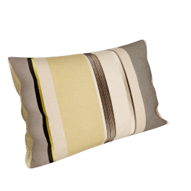 Harlequin Bella Stripe, Yellow/grey
