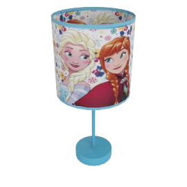 Frozen Springtime Frost Touch Table Lamp