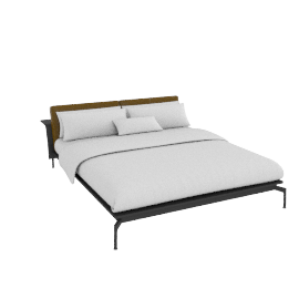 Sled bed