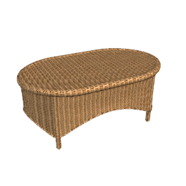 Jamaica Cane Coffee Table