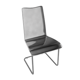 Ice Chair, Clear