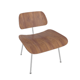 Eames® Molded Plywood Lounge Chair, LCM