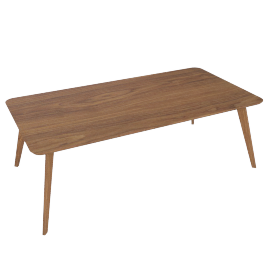 Clover Coffee Table-Brown
