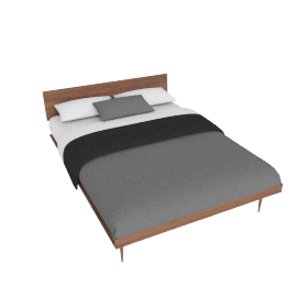 AmericanModern Bed - Queen