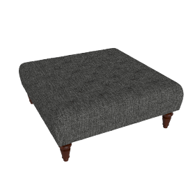 Stanford Footstool, Arden Sable