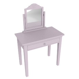 Isabelle Dressing Table with Mirror