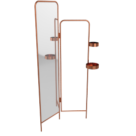 Alana valet, copper