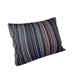 Maharam Pillow in Narrow Sequential Stripes 18'' x 26''