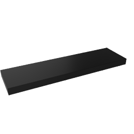 Chicago Shelf 90, High Gloss Black